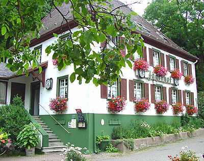 Guesthouse Bed and Breakfast in black forest Germany Staufen Jägerhof